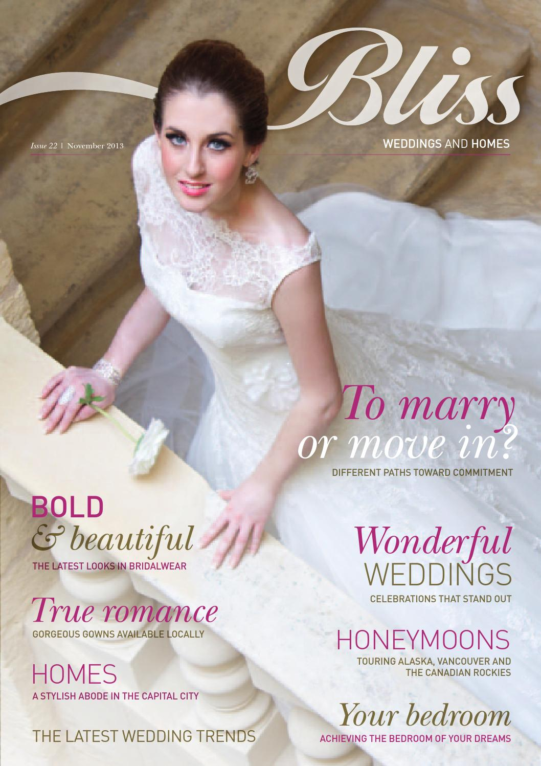 a0acda8685805 Bliss Magazine November 2013 Issue by Content House Group - issuu
