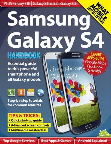 Samsung galaxy s4 handbook by Paul - issuu