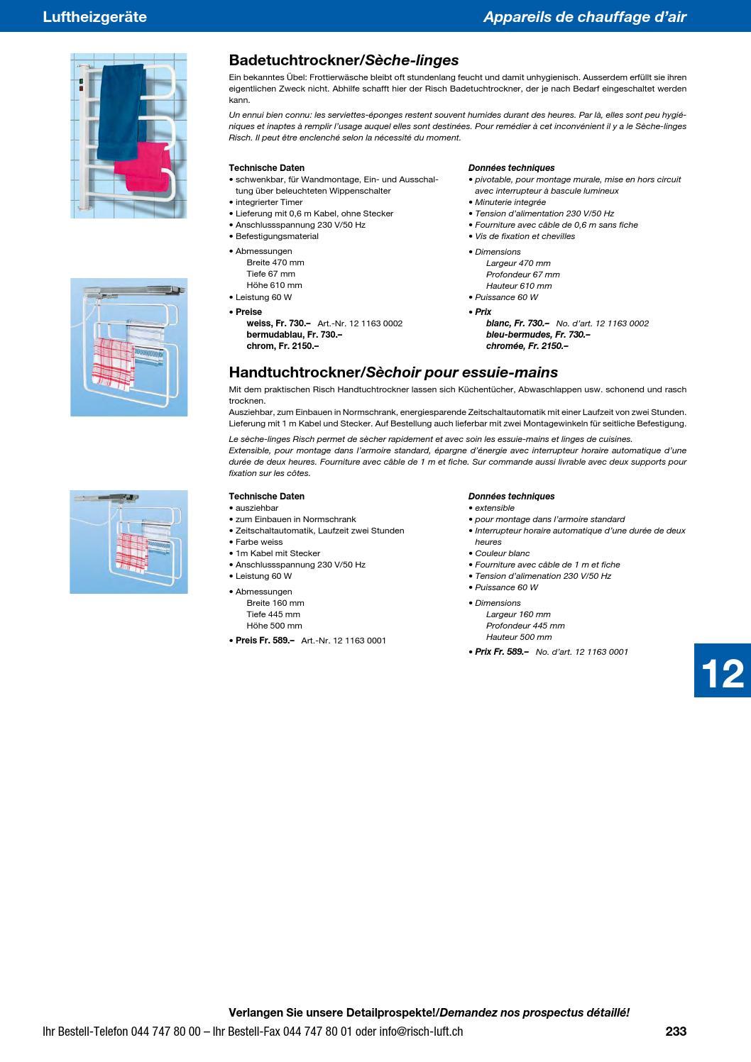 Risch Lufttechnik Ag Gesamtprospekt 2013 By Risch