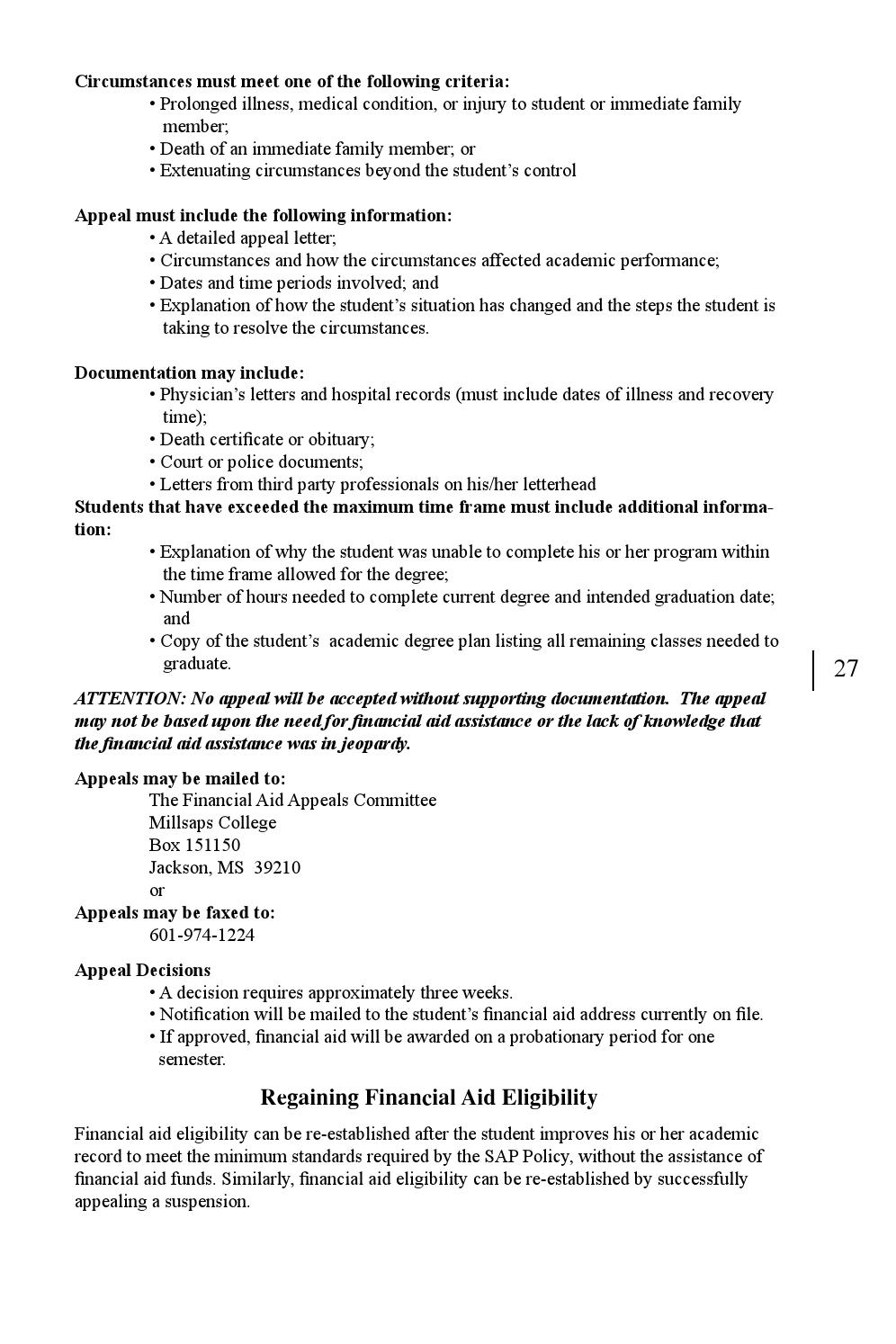 Appeal Letter For Financial Aid from image.isu.pub