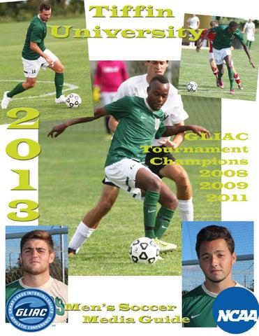 2013 Men S Soccer Big By Tiffin University Athletics Issuu