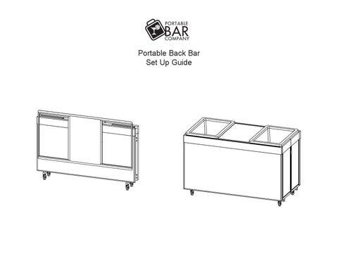 Portable Back Bar Set Up Guide