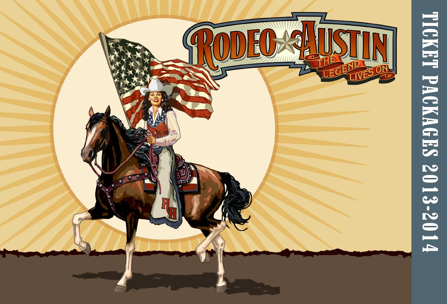 2014 Ticket Brochure By Rodeo Austin Issuu