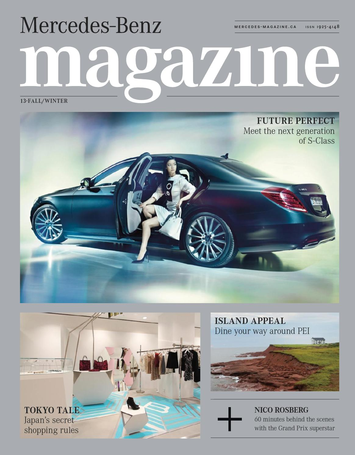 Mercedes Benz Magazine Fall Winter 2013 By Spafax Canada Issuu Midrange Coustic Ca Sp 300 Mid