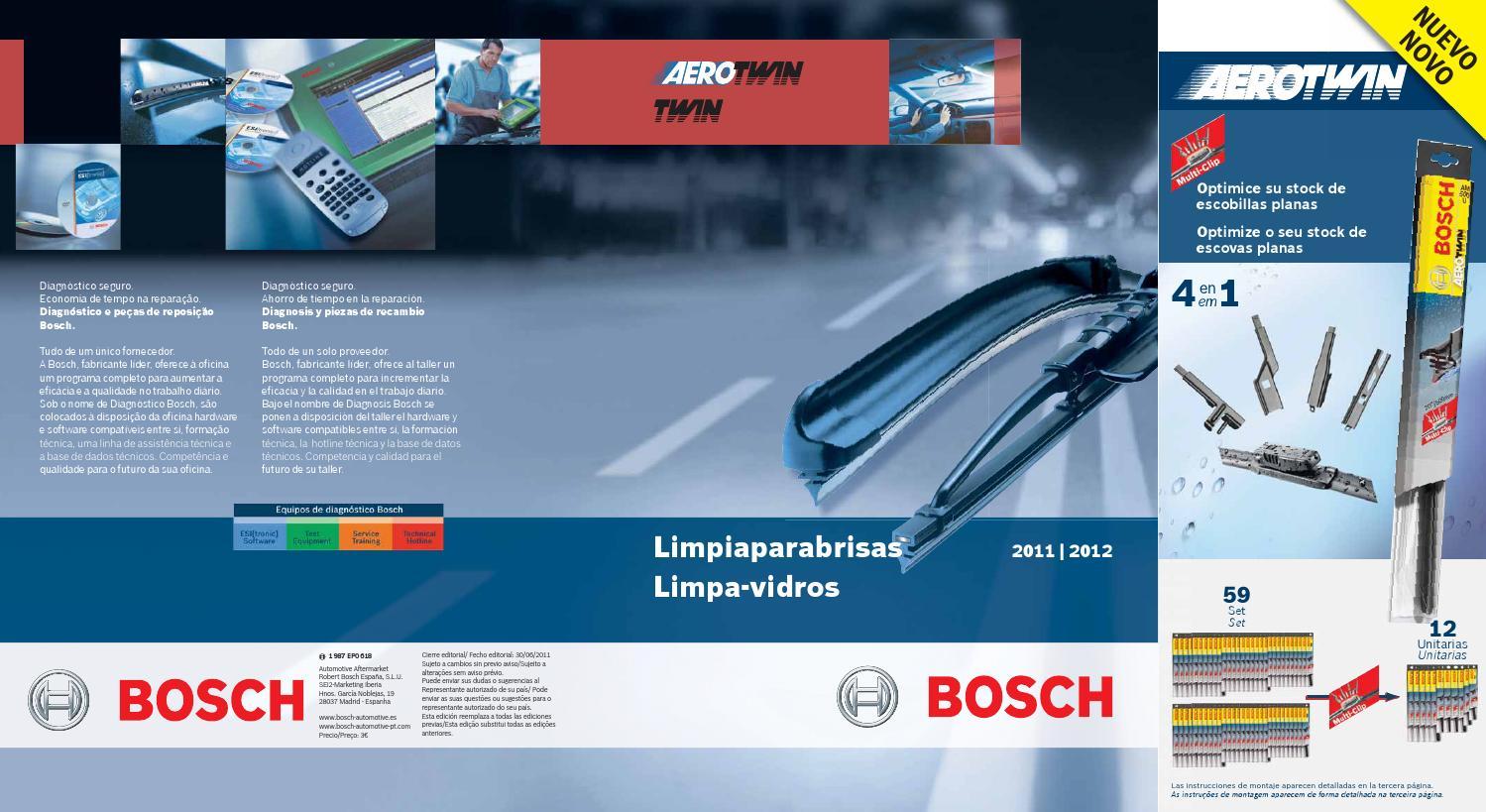 Original Bosch 3397018170 ESCOBILLA A2 Grandis previa N70