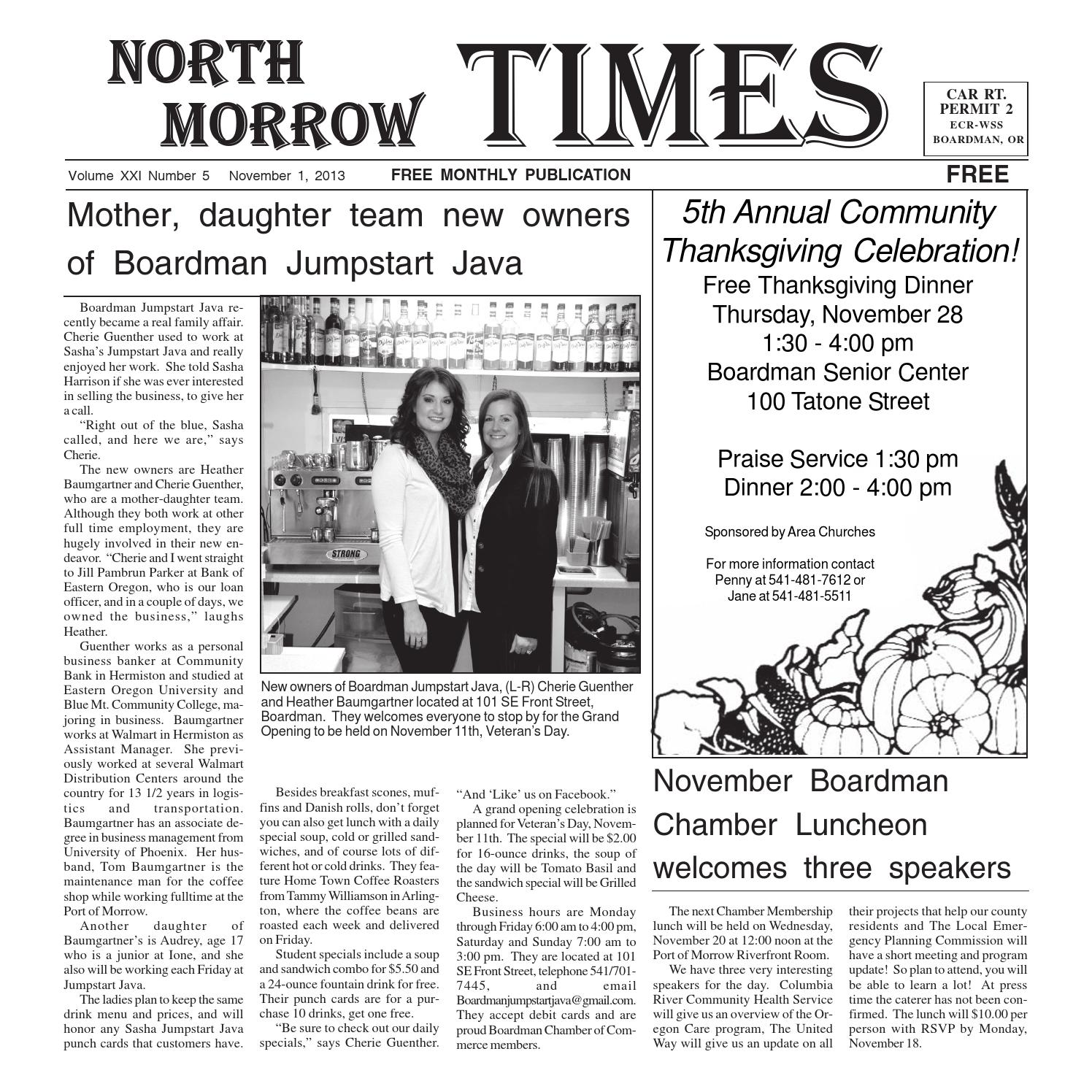 northmorrowtimes november 2013 by north morrow times issuu