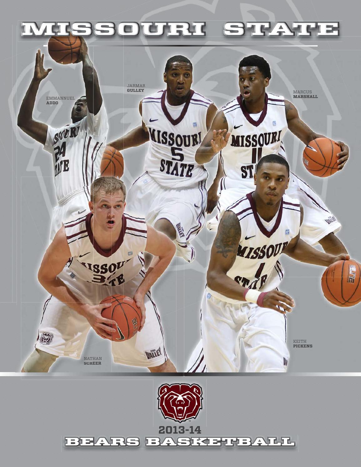 finest selection 399bf 4c5e3 2013-14 Missouri State Men s Basketball Guide by Missouri State Bears -  issuu