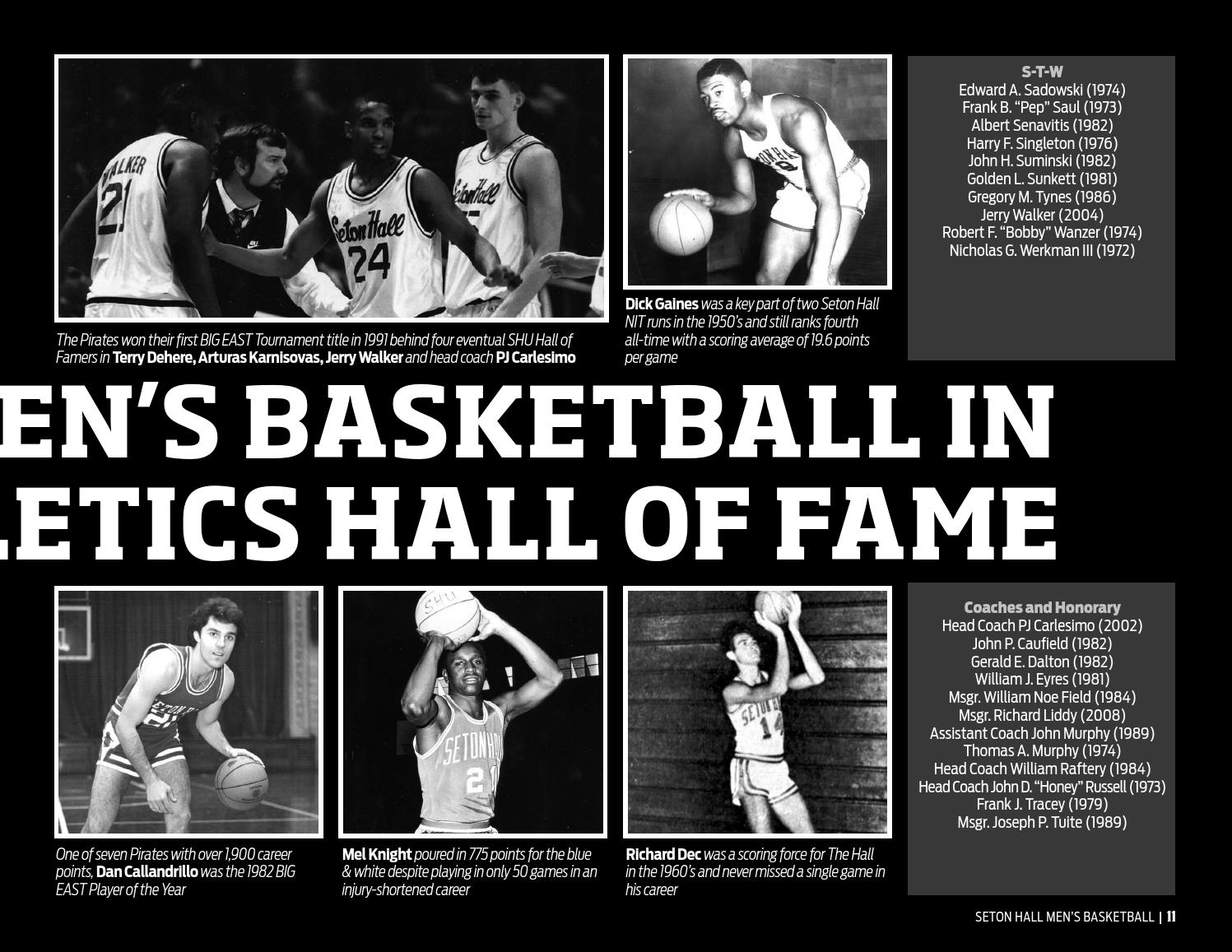 2013 14 Seton Hall Men s Basketball Media Guide by Seton Hall