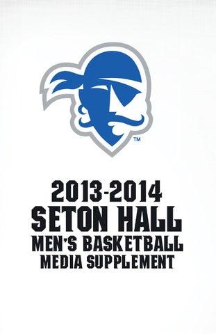 2013-14 Seton Hall Men s Basketball Records Supplement by Seton Hall ... 1d8d47bde4f