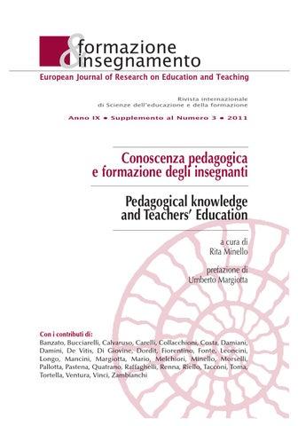 Formazione Insegnamento. Supplemento 03 2011 by Pensa Multimedia - issuu 8c307f756a5
