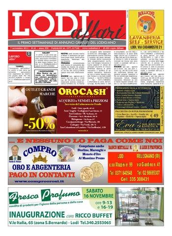 Lodi Affari 7 Novembre by Lodi Affari - issuu 72f6c861911