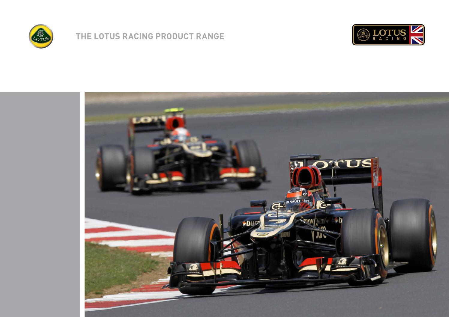 Lotus Racing Car Brochure by Lotus Cars - issuu