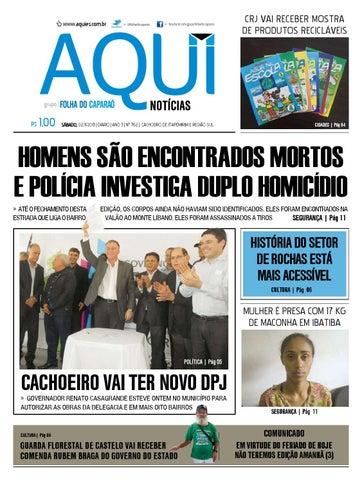 Edição 762 sábado jornal aqui notícias by Jornal Aqui Notícias - issuu f9c02e2ca88f6