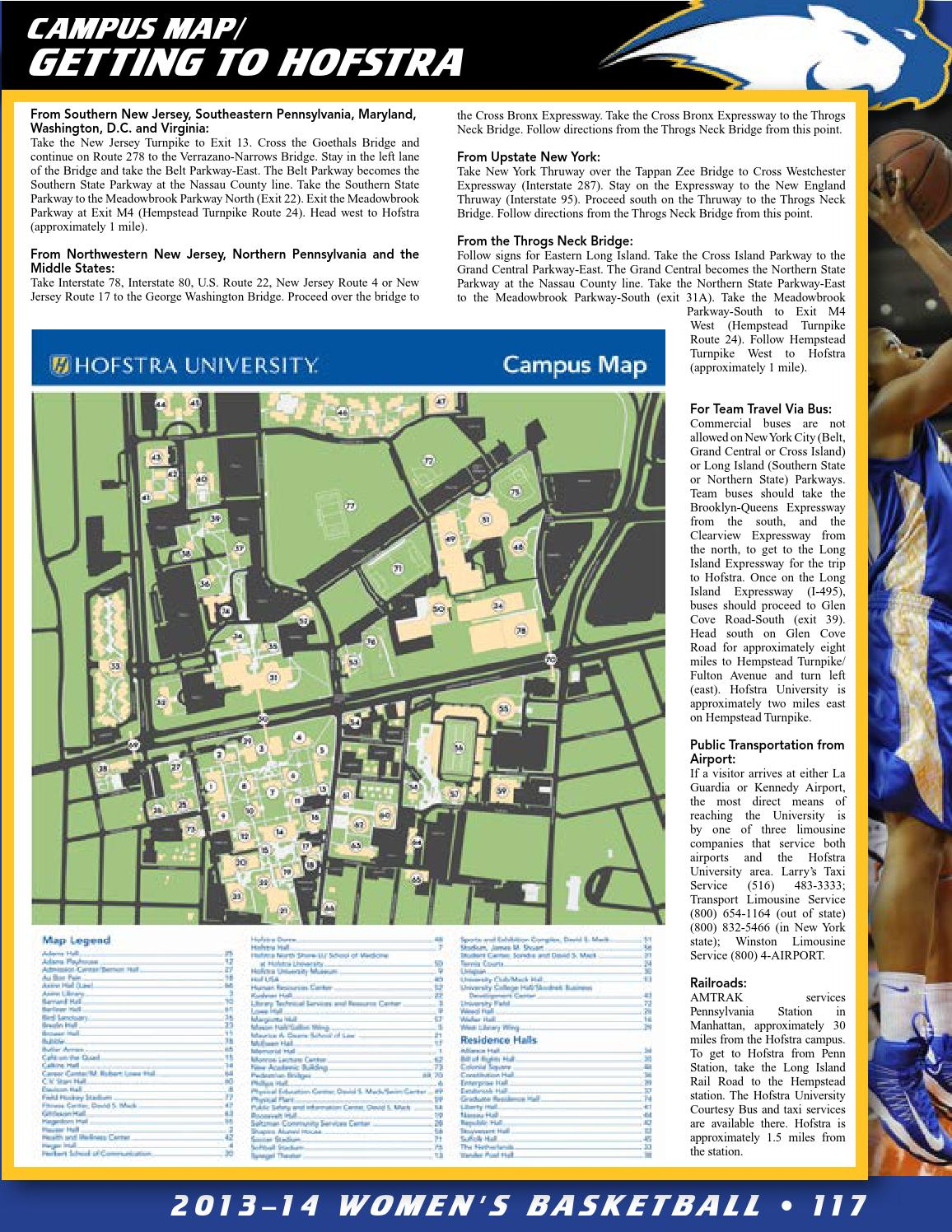 2013 14 Hofstra University Women S Basketball Guide By Hofstra