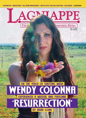1262d5a0a Wendy Colonna Resurrection by Lagniappe Magazine - issuu