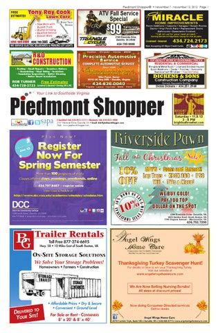 1cd9ddea77d1 Piedmont Shopper 11.7.13 by piedmont shopper - issuu
