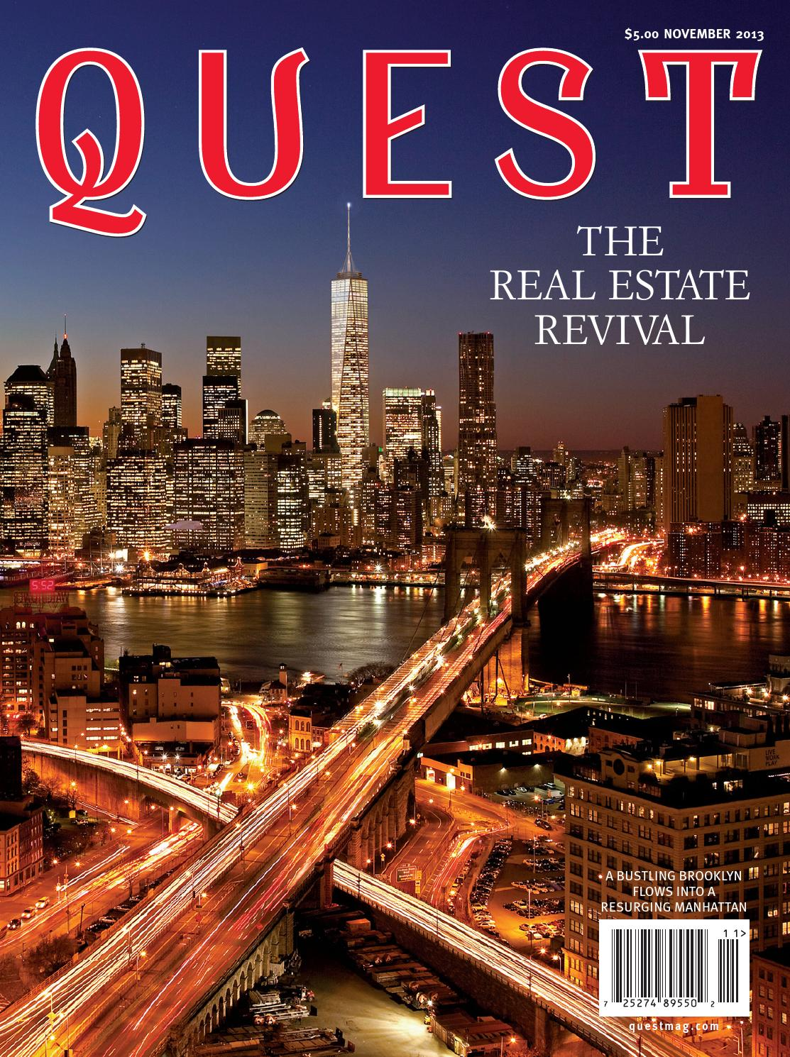 Quest November 2013 by QUEST Magazine - issuu