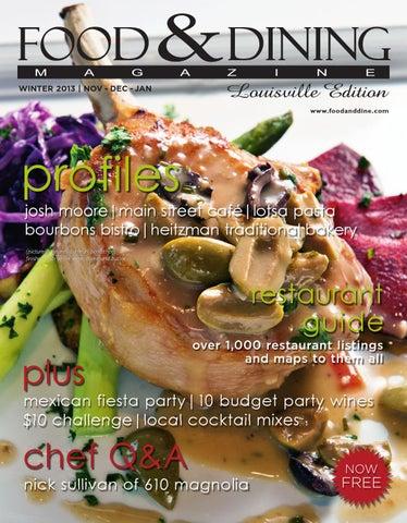 0254630f77c Winter 2013 (Vol. 42) by Food & Dining Magazine - issuu