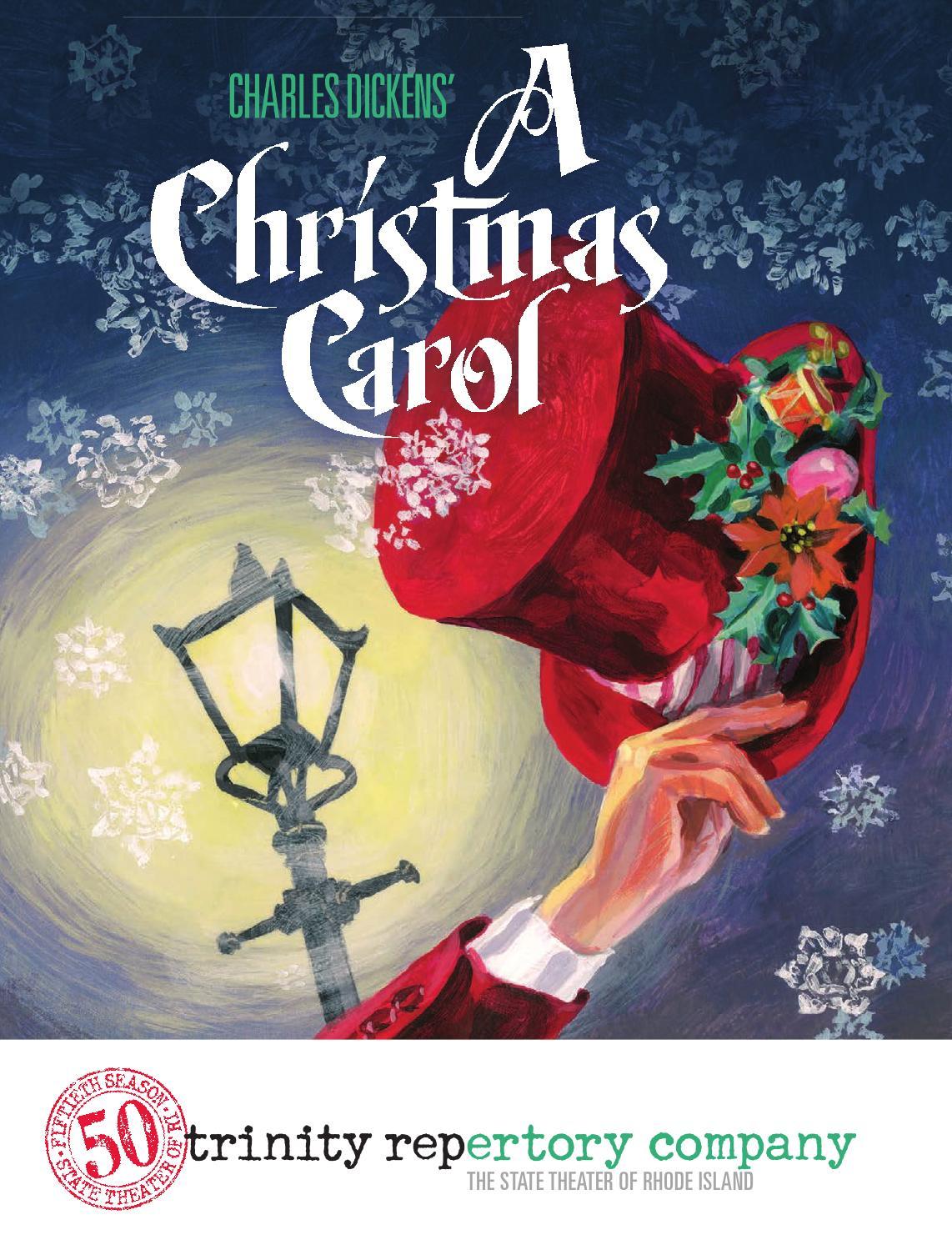 A Christmas Carol at Trinity Rep- Program by Trinity Repertory Company - Issuu