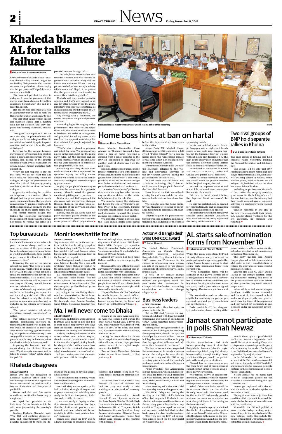 November 08, 2013 by DhakaTribune - issuu