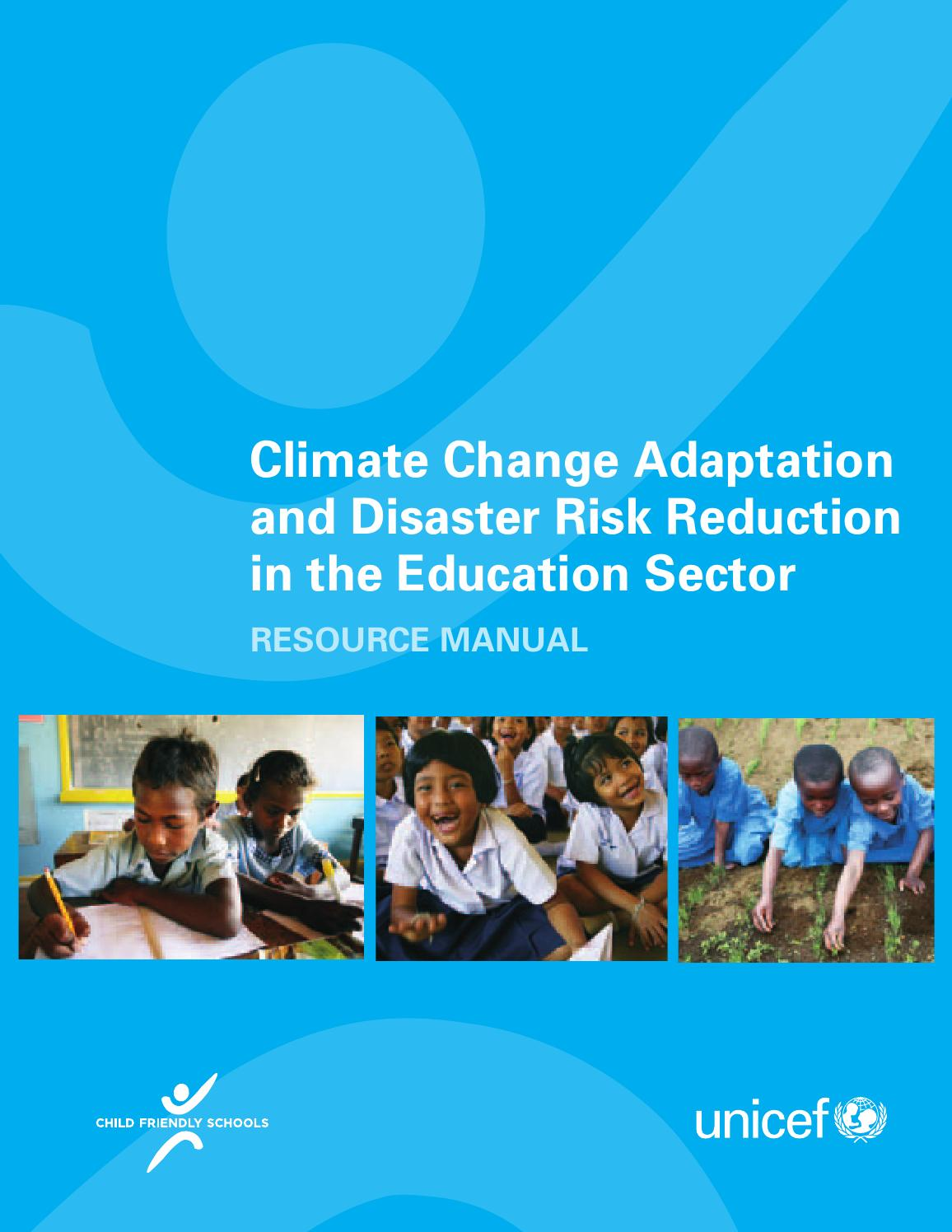 Climate Change Adaptation and Disaster Risk Reduction in the