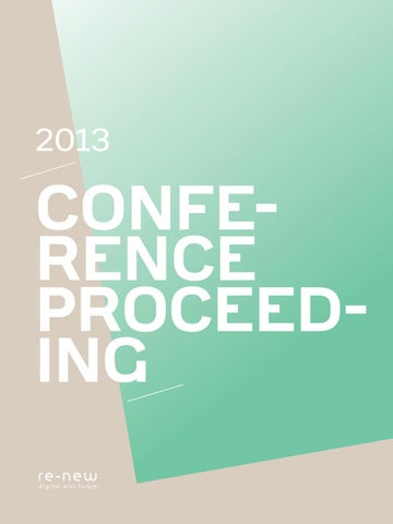 Re new 2013 conference proceeding by re-new - issuu
