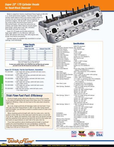 2014 Trickflow Catalog by Fabre Australia - issuu