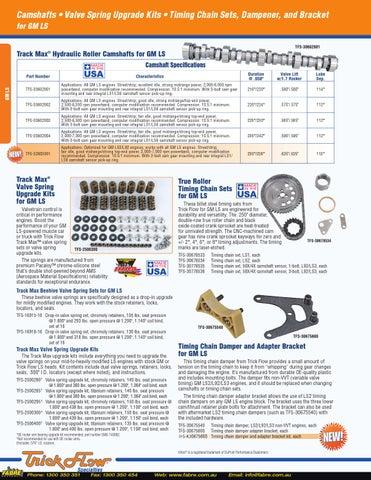 2014 Trickflow Catalog