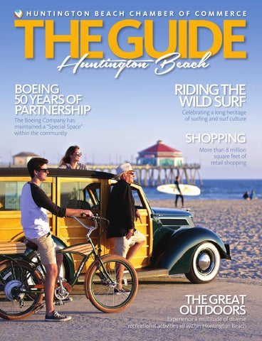 Huntington Beach The Guide 2014 By Chamber Marketing Partners Inc
