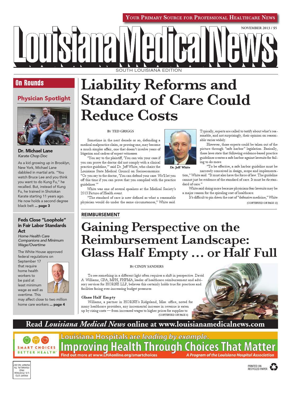 Louisiana Medical News Nov 2013 by FW Publishing - issuu