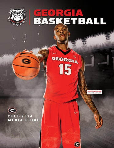 c3736b45eb 2013-14 Georgia Men s Basketball Media Guide by Georgia Bulldogs ...