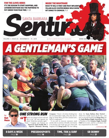 A GENTLEMAN S GAME by Montecito Journal - issuu 69e81c366c6