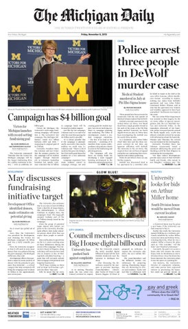 2013-11-08 by The Michigan Daily - issuu