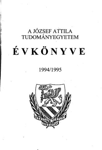 Evkonyv 1994 95 by SZTE Alma Mater - issuu 2b0cac17d1