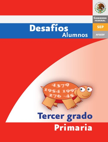 Desafios matematicos alumnos 3º tercer grado primaria by GINES ...