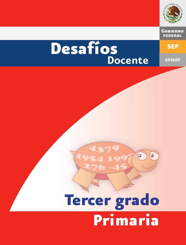 Desafios matematicos docente 3º tercer grado primaria by GINES ...