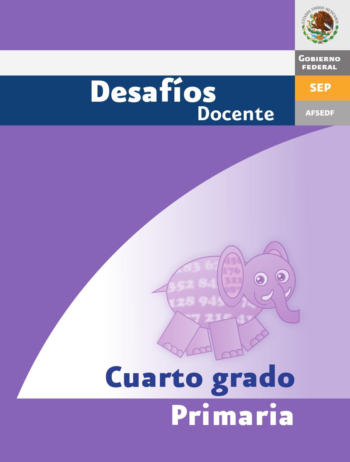Desafios matematicos docente 4º cuarto grado primaria by GINES CIUDAD REAL  - issuu 8600be55d0373