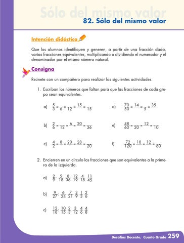 Desafios matematicos docente 4º cuarto grado primaria by GINES ...