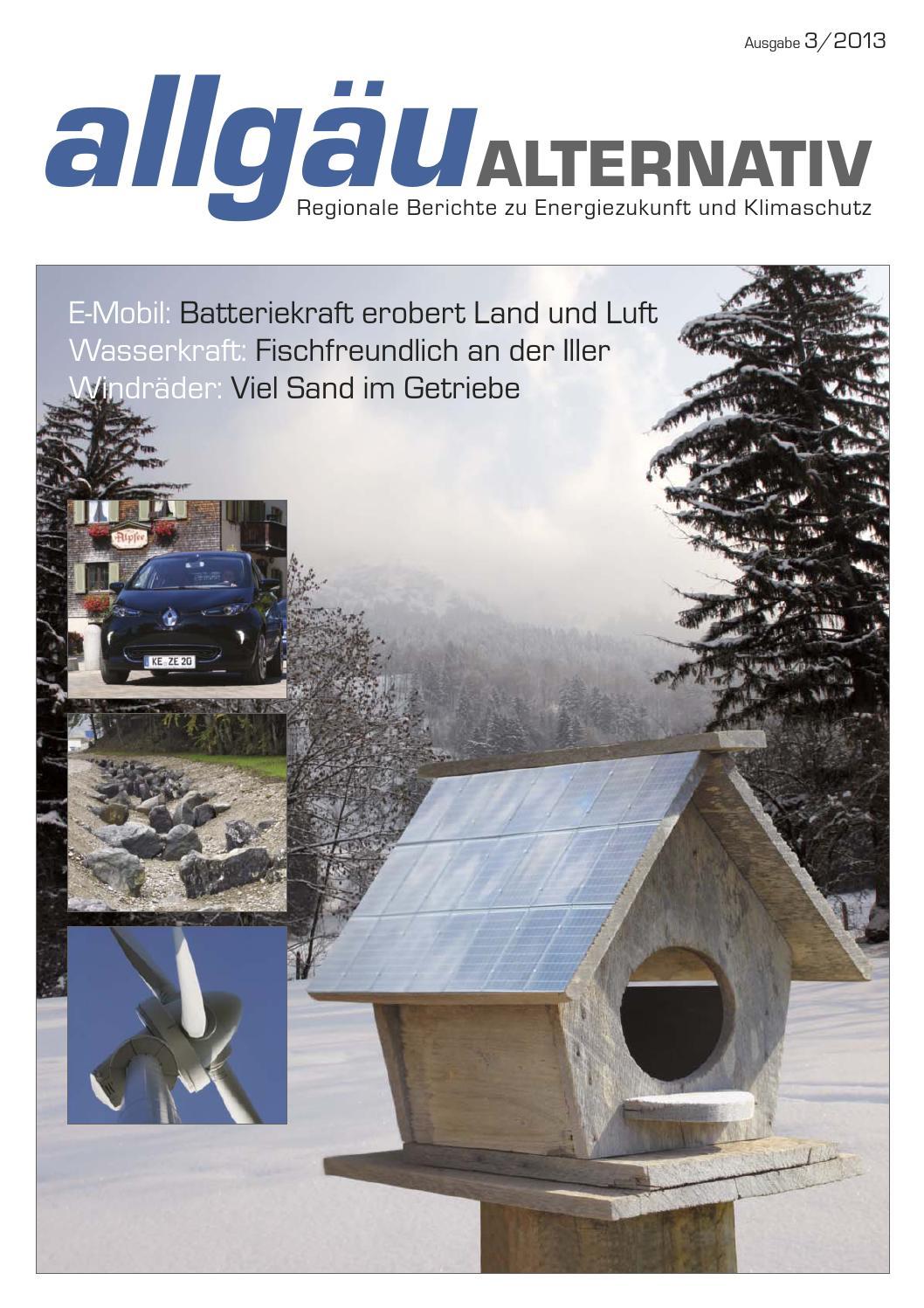 allgäuALTERNATIV Herbst/Winter-Ausgabe 2013 by Verlag Hephaistos ...