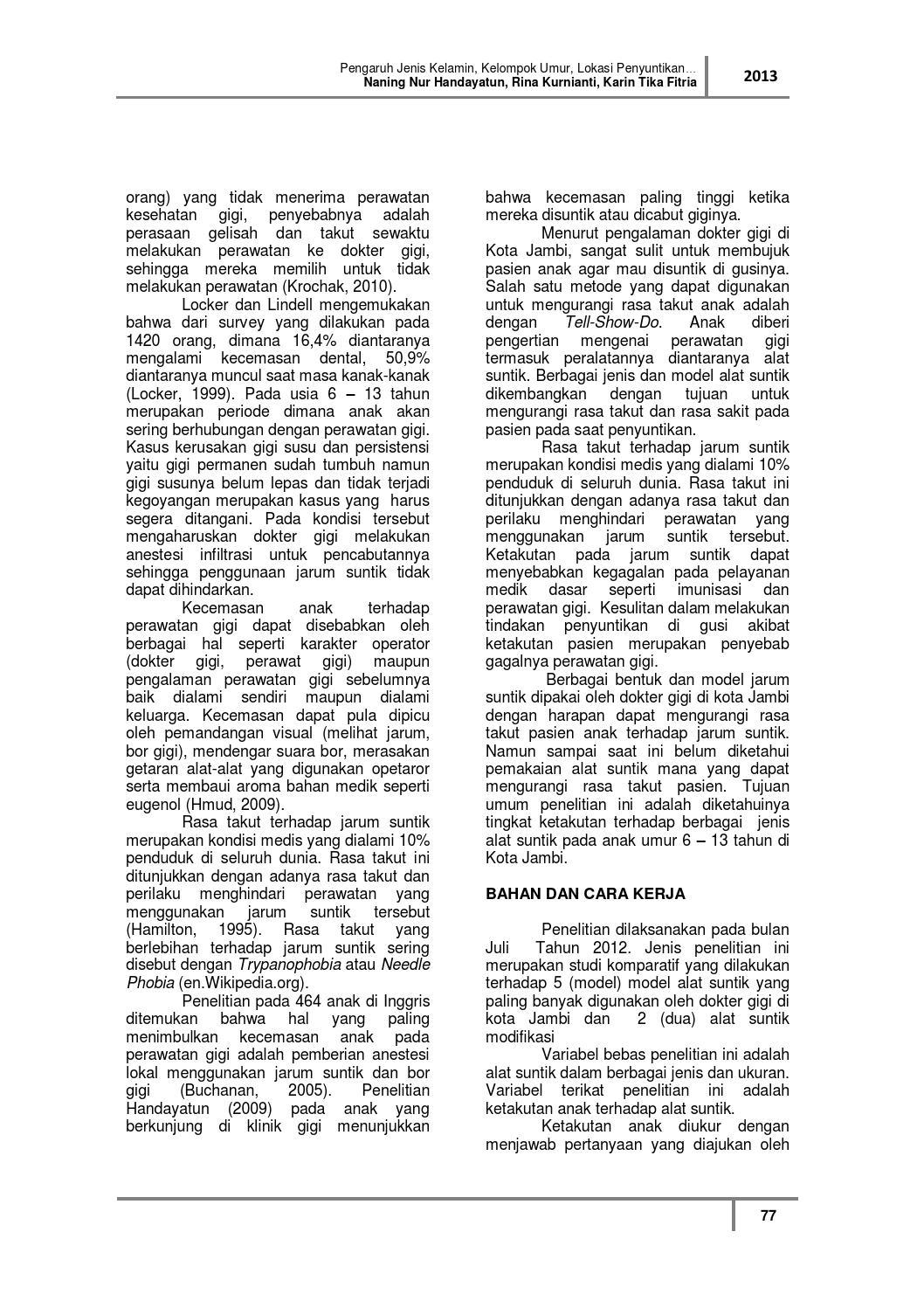 Jurnal Poltekkes Jambi Vol 8 By Jurnal Poltekkes Jambi Issuu
