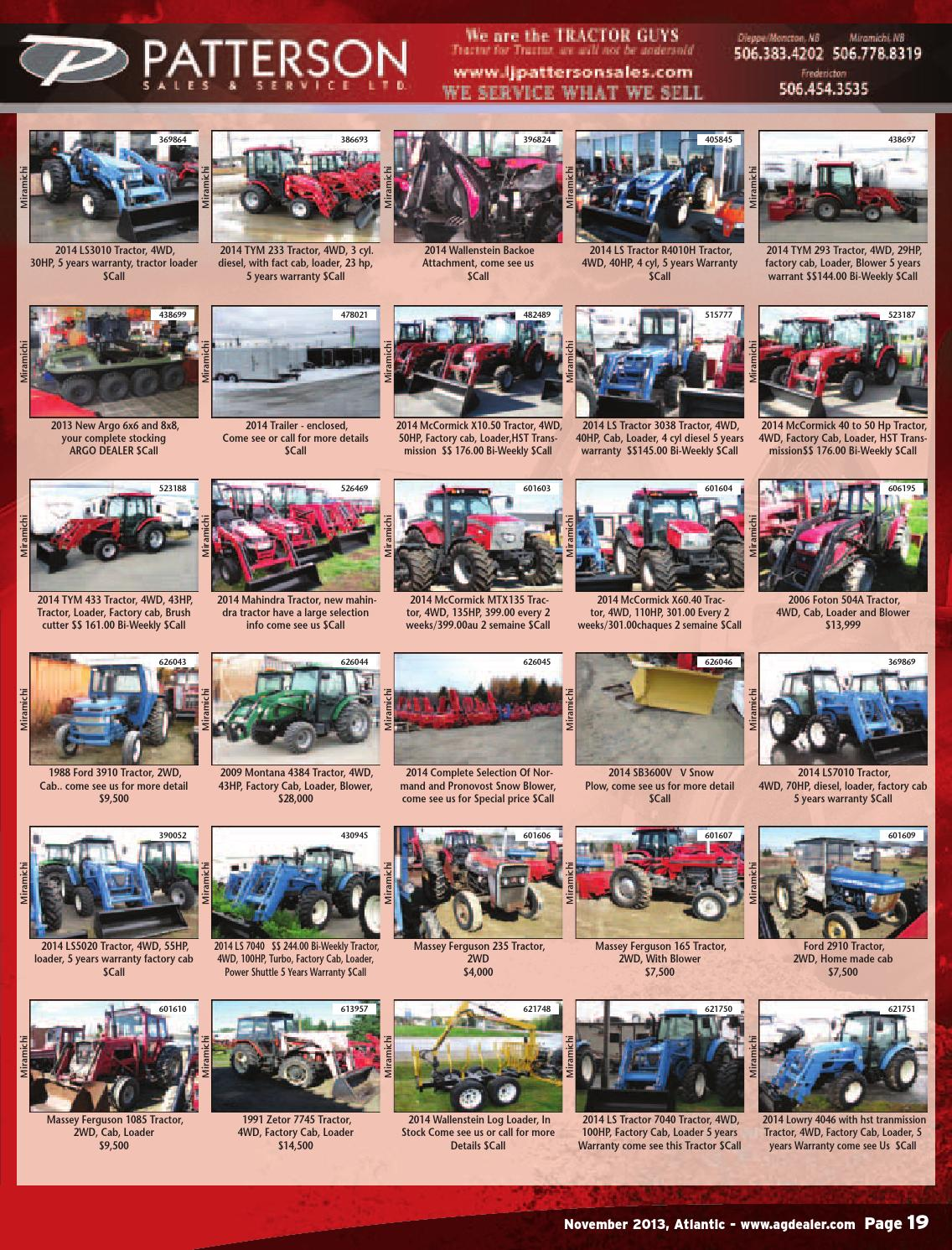 AGDealer Atlantic Edition, November 2013 by Farm Business