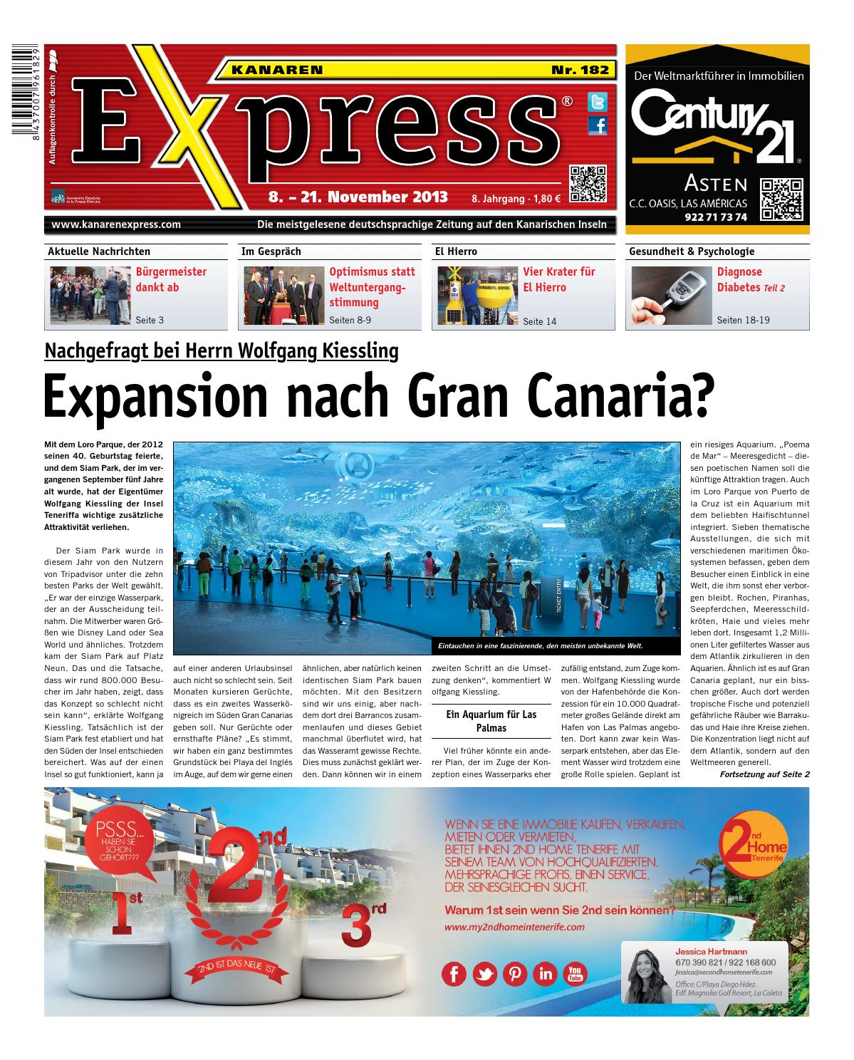 Kanaren Express 182 by Island Connections Media Group - issuu