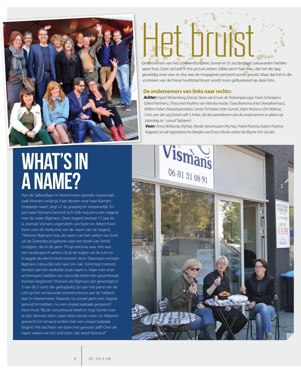 Of Hét Zakelijk Magazine Voor Ondernemend Friesland By Uitgeverij