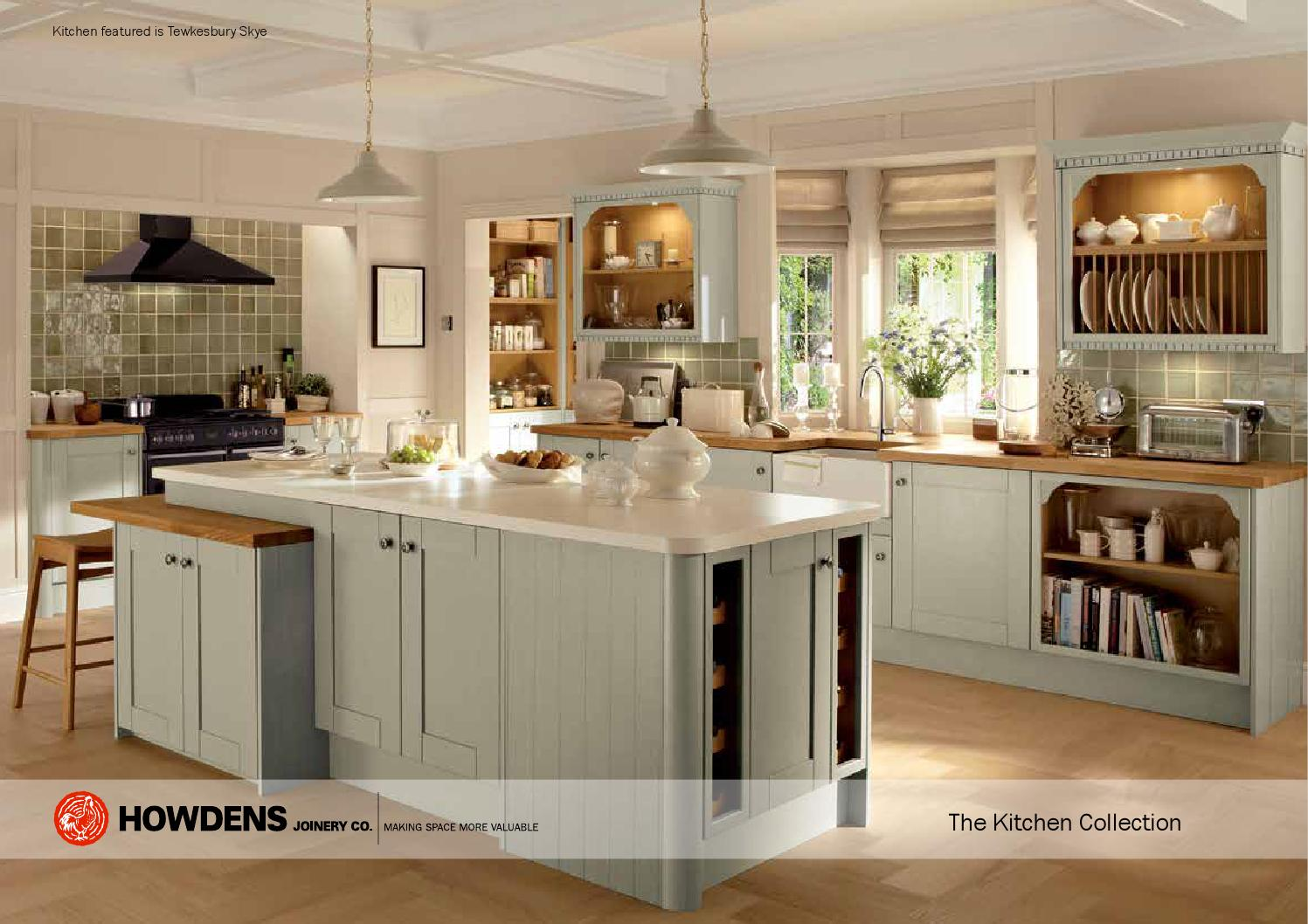 Kitchen collection brochure by steven123456 issuu for Kitchen ideas howdens