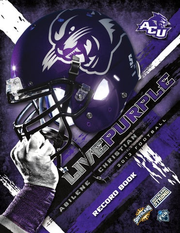 6989142eeef 2013 ACU Football Record Book by Abilene Christian University - issuu