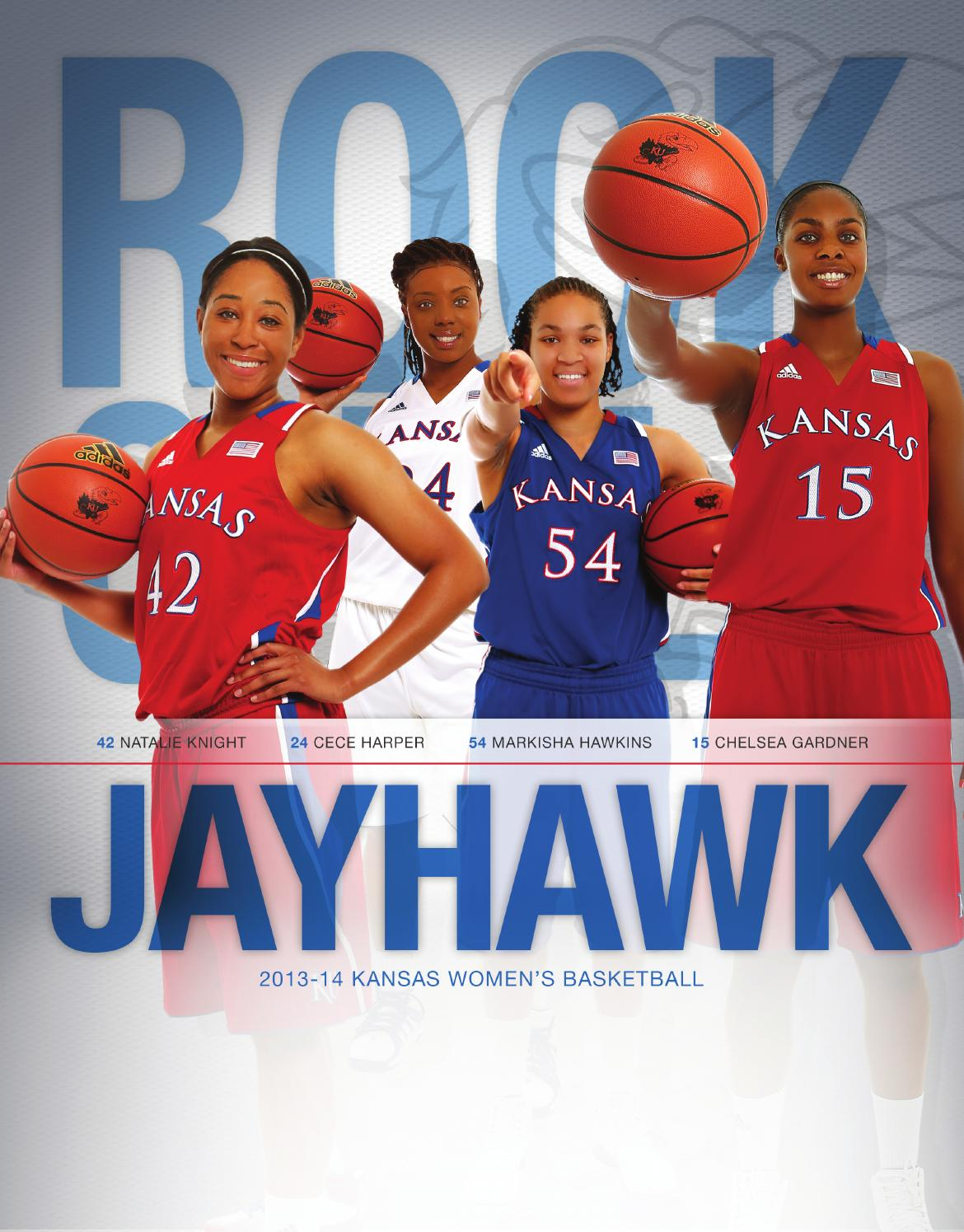 d31b92ae16b 2013 14 Kansas women s basketball guide by Kansas Jayhawks - issuu