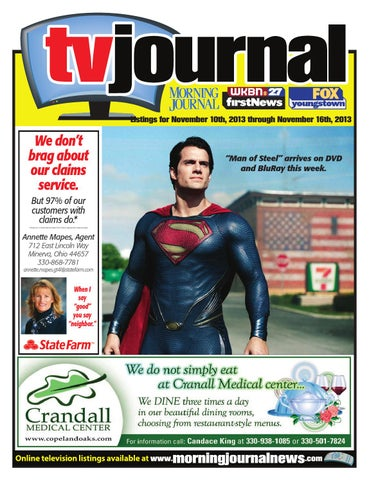 Tv Journal 11 10 13 By Morning Journal Issuu
