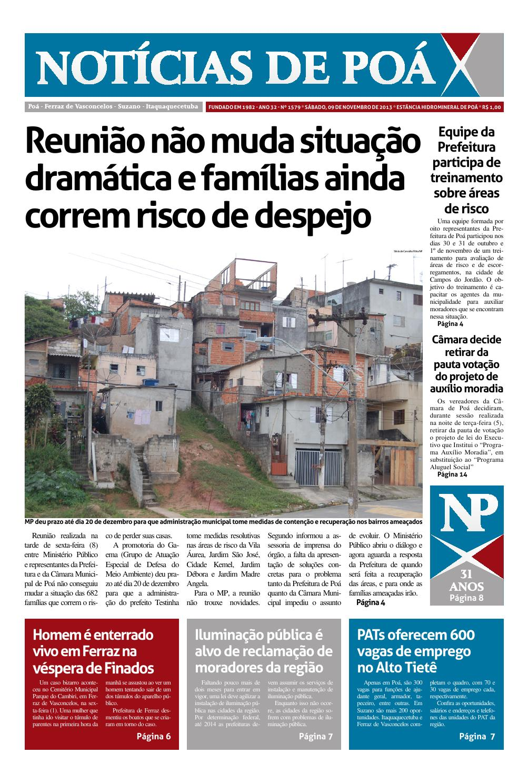 Edição 1579 by Noticias de Poá - issuu 33b56bcb25