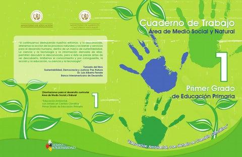 Cuaderno1 conocimiento del medio                                   educacion ambiental