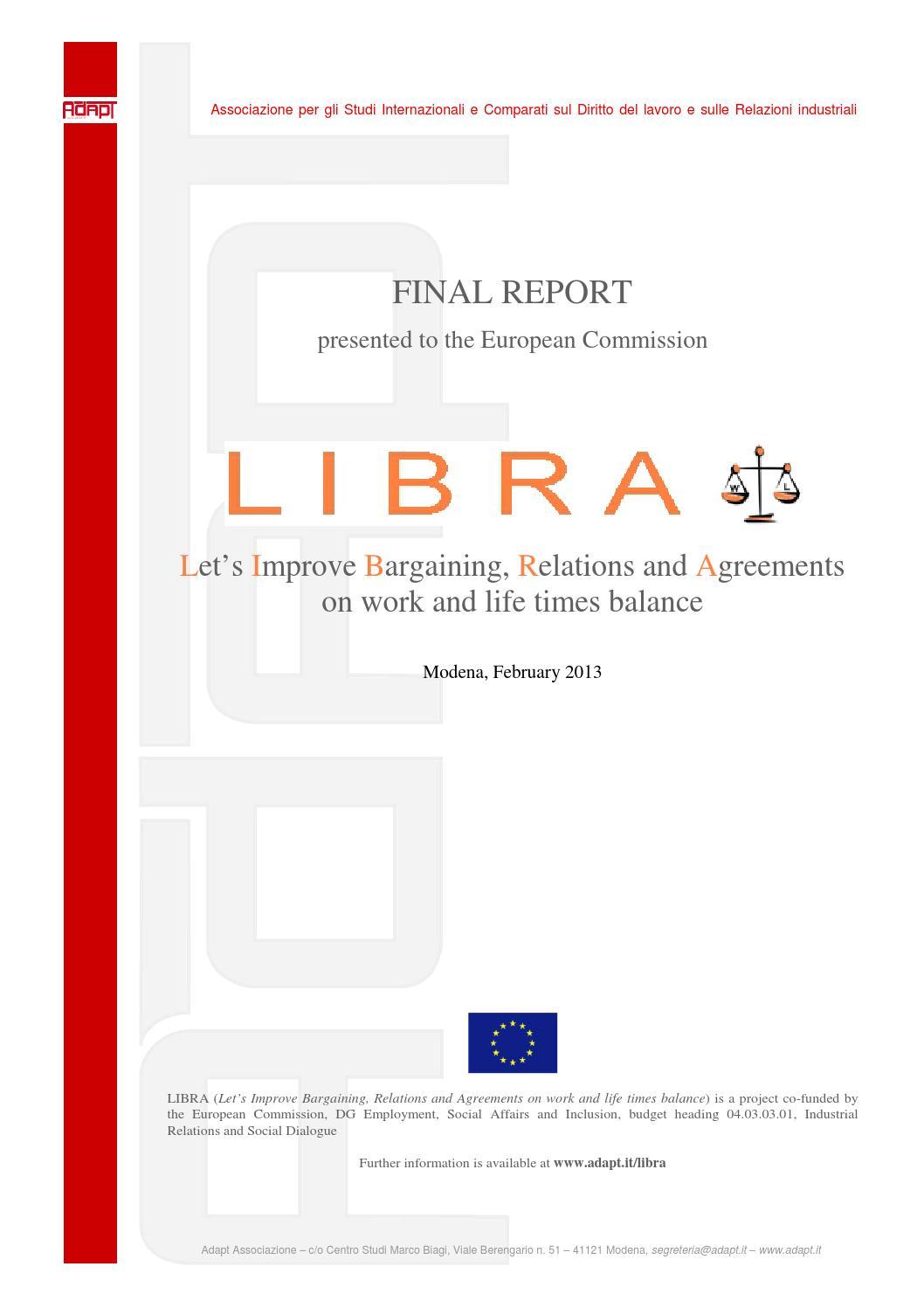 Libra report def by Eugenio Belgieri - issuu